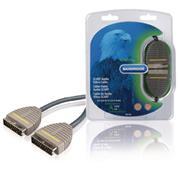 SCART Kabel SCART Male - SCART Male 3.00 m Blauw