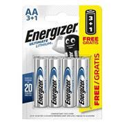 Lithium Batterij AA 1.5 V Ultimate 4-Promotional Blister