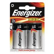 Alkaline Batterij D 1.5 V Max 2-Blister