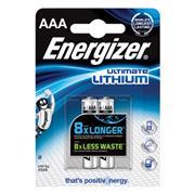 Lithium Batterij AAA 1.5 V Ultimate 2-Blister