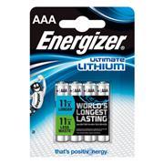 Lithium Batterij AAA 1.5 V Ultimate 4-Blister