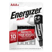 Alkaline Batterij AAA 1.5 V Max 4-Blister
