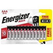 Alkaline Batterij AAA 1.5 V Max 12-Blister