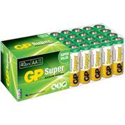 Alkaline Batterij AA 1.5 V Super 40-Doos