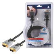 VGA Kabel VGA Male - VGA Male 5.00 m Donkergrijs
