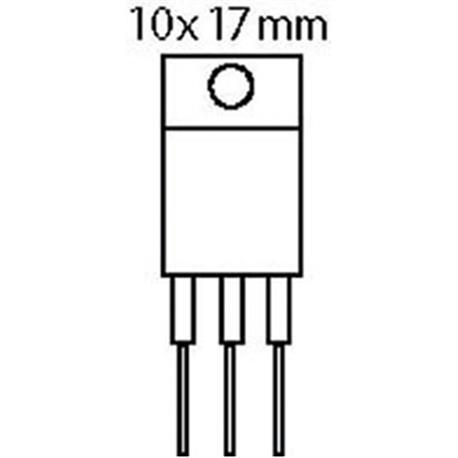 Transistor N-FET 100 VDC 28 A 150W 0.077R
