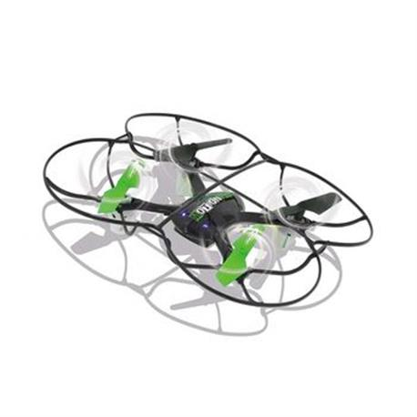 R/C-Drone MotionFly G-Sensor Compass Turbo Flip 2.4 GHz Control Zwart/Groen