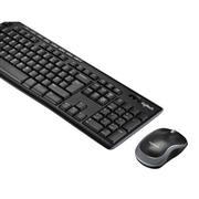 Draadloze Muis en Keyboard Combiverpakking Standaard USB Belgisch Zwart