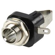 Stereoconnector 6.35 mm Female Zilver