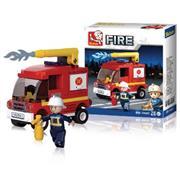 Bouwstenen Fire Serie Kleine Tankautospuit