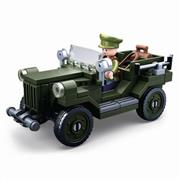 Bouwstenen WWII Serie GAZ-67 Allied Light Truck