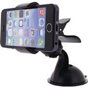 Universeel Smartphonehouder Autoraam en Dashboard Zwart