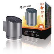 Solar Wandlamp LED Zilver