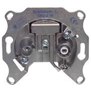 Antenne Wandcontactdoos Doorvoer 2.5 dB 2 Zilver