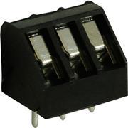 PCB Terminal Block Toonhoogte 5 mm 45° 3P
