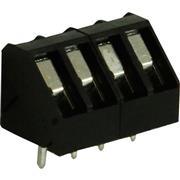 PCB Terminal Block Toonhoogte 5 mm 45° 4P