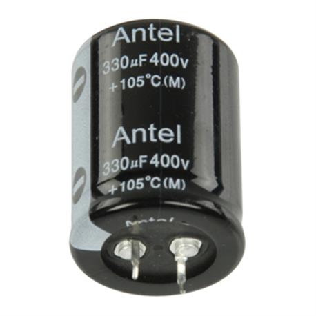 Snap-In Electrolytic Capacitor 330 uF 400 VDC