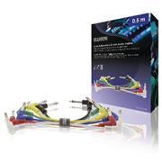 Stereo Audiokabel 6.35 mm Male - 6.35 mm Male 0.50 m Donkergrijs