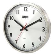 Balance | Wall Clock | 30 cm | Analogue | Aluminum
