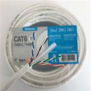 CAT6 UTP Netwerkkabel RJ45 (8/8) Male - RJ45 (8/8) Male 100 m Wit