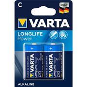 Alkaline Batterij C 1.5 V High Energy 2-Blister