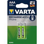 Oplaadbare NiMH Batterij AAA 1.2 V 550 mAh 2-Blister