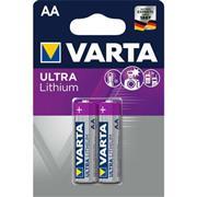 Lithium Batterij AA 2-Blisterkaart