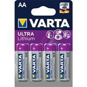 Lithium Batterij AA-Blisterkaart