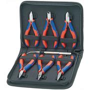 Set of assembly pliers