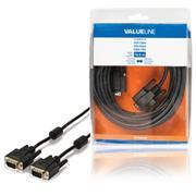 VGA Kabel VGA Male - VGA Male 10.0 m Zwart
