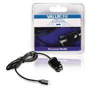 Autolader 1-Uitgang 2.1 A Micro-USB Zwart
