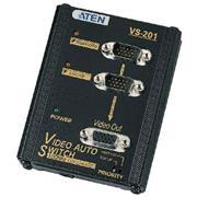 2-Poorts VGA Schakelaar Zwart