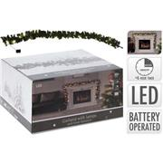 GARLAND | 270 CM | 30 LED | TIMER | BATTERY OPERATED