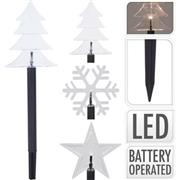 GROUND LAMP | WARM WHITE | LED | 3 DESIGNS | 5 PCS