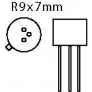 Transistor SI-N 100 VDC 1 A 0.75 50MHz