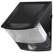 Solar Wandlamp 2 LED Zwart